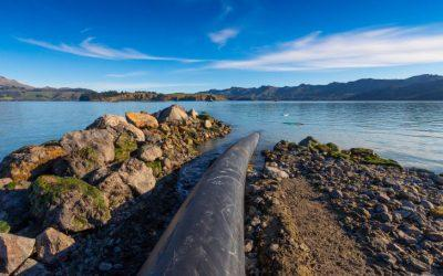 Lyttelton Harbour pipeline goes submarine